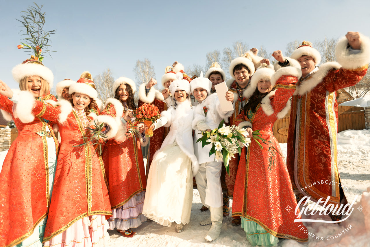 Свадьба в татаро-монгольском стиле