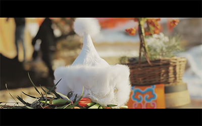 Свадьба в татаро-монгольском стиле. Видео